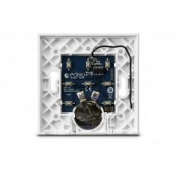 Edisio - Base intrrupteur blanche 1 à 5 canaux