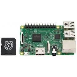 RASPBERRY PI3 - Raspberry Pi 3 Modèle B avec carte micro SD 16 Go