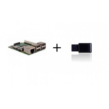Raspberry PI3 - Raspberry Pi3 avec contrôleur Z-wave plus