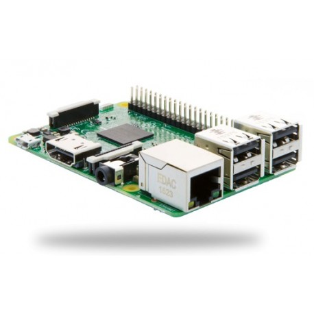 Raspberry Pi3 - Avec alimentation 5V 2,5A