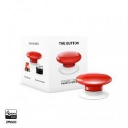 FIBARO - Bouton de commande The Button Z-Wave Plus rouge