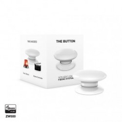 FIBARO - Bouton de commande The Button Z-Wave Plus blanc FGPB-101