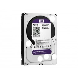 Disque dur Purple - Western Digital 3TO 7200 tr/m 3,5""