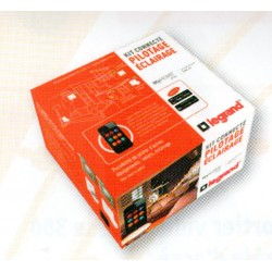 Pack MyHome Play Legrand - Pack domotique connectée éclairage Celiane blanc