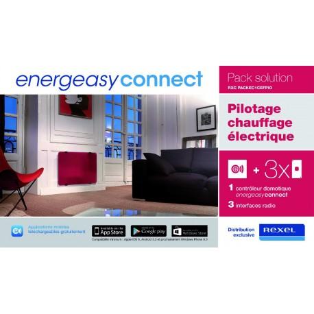 Energeasy Connect - Pack domotique chauffage électrique