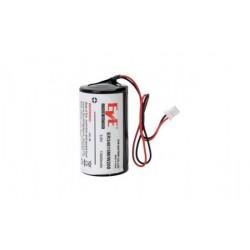 Pile lithium 3,6V/13Ah pour sirène-radio Visonic.