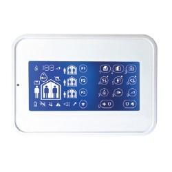 WK160 DSC Wireless Premium - Clavier tactile pour centrale alarme Wireless Premium