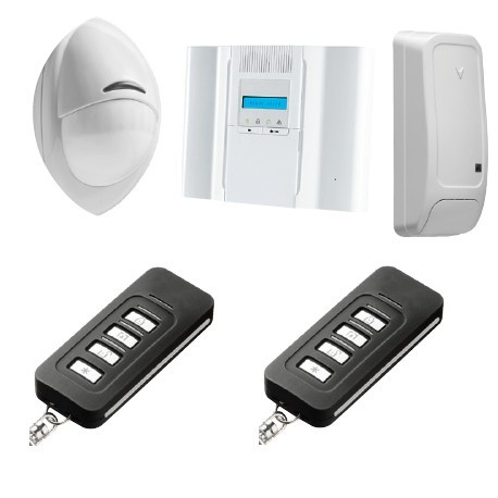 Alarme DSC Wireless Premium - Pack alarme Wireless Premium PowerG F1/ F2