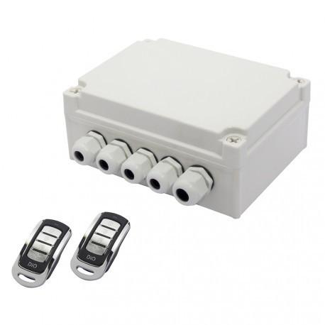 DIO ED-GK-01 - Kit jardin avec deux télécommandes 4 canaux