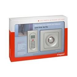 Kit alarme LEGRAND sans fil prêt à poser 043209