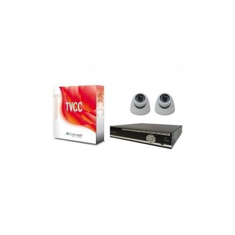 KIT SDVR040A Comelit enregistreur numérique avec 2 dômes