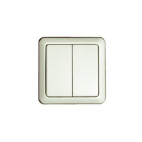 chacon interrupteur double 54502 sans fil metteur. Black Bedroom Furniture Sets. Home Design Ideas