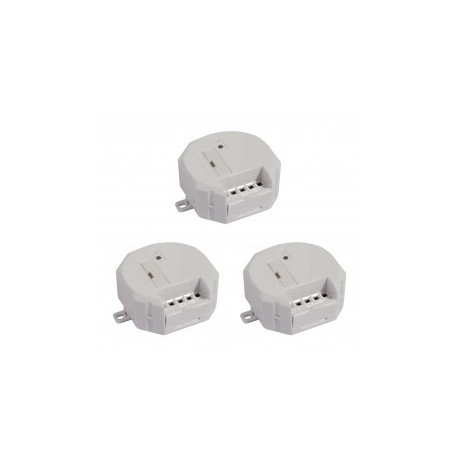 kit 3 modules CHACON 54751 sans fil récepteur pour motorisation