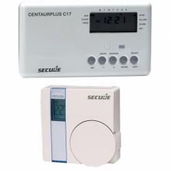 SECURE Programmateur de chauffage avec thermostat sans fil Z-Wave