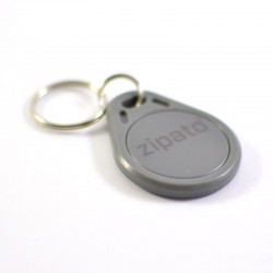 Badge RFID Gris ZIPATO
