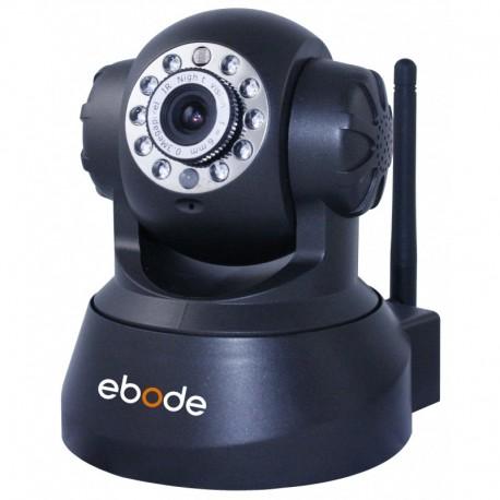 EBODE IPV38WE Caméra IP WiFi Pan / Tilt vision de nuit, angle 90° Noire