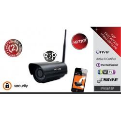 EBODE IPV58P2P Caméra IP WiFi extérieure avec vision de nuit P2P