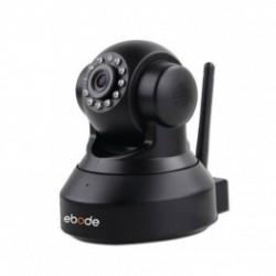 EBODE IPV38P2P Caméra IP WiFi Pan/Tilt avec vision de nuit P2P