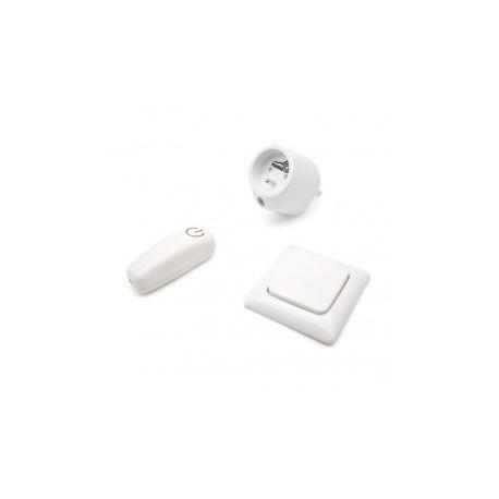 SWIID SwiidPack Normal, interrupteur blanc arrondi et prise type E (Française)