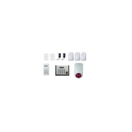Kit alarme sans fil CHACON 34930