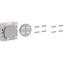 SCHNEIDER - Récepteur radio 2 ou 4 boutons ON / OFF alu ODACE