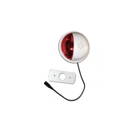 FORTREZZ - sirène d'intèrieure Z-WAVE flash rouge