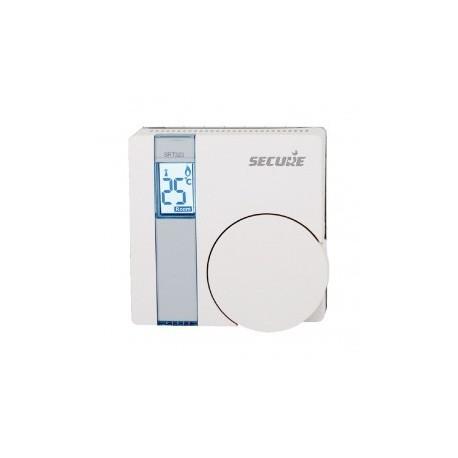 SECURE - Thermostat SRT323 avec écran LCD Z-WAVE et relai
