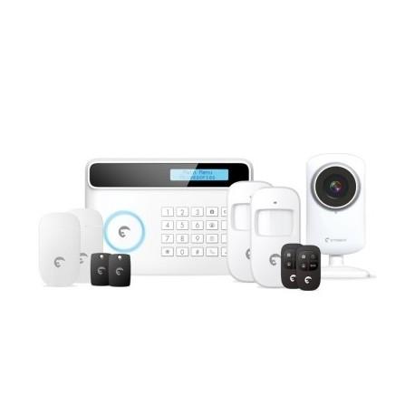 ETIGER - pack alarme S4CV ADSL GSM avec caméra IP
