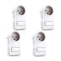 Más SABIO - Pack de 4 tomas de corriente controlada