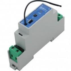 Qubino ZMNHUD1 - Módulo de alambre controlador Z-wave Plus en riel DIN