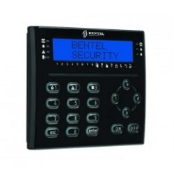 LCD keypad T-BLACK BENTEL with badge reader