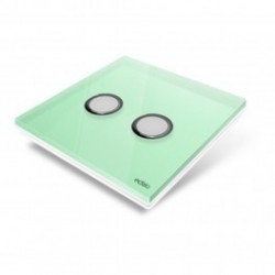 EDISIO - cover Plate Diamond - Light Green 2 keys