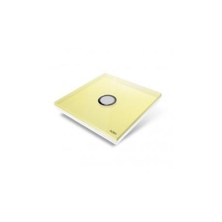 EDISIO - abdeckplatte Diamond - Gelb 1-taste