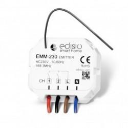 EDISIO - Micromodule émetteur 230 V - 2 canaux