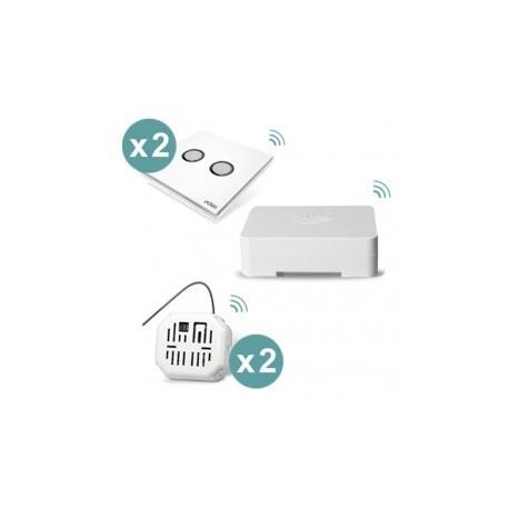 EDISIO - Pack-beleuchtung angeschlossen