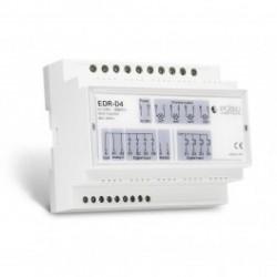 EDISIO - Receptor riel RIEL DIN de 868,3 MHz unidad de