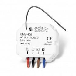 EDISIO - Receptor de 868,3 MHz, 2 canales 2