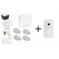Pack Alarm THE SUGAR - Pack Honeywell detector camera