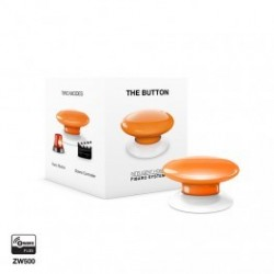 FIBARO - command Button, The Button Z-Wave Plus orange