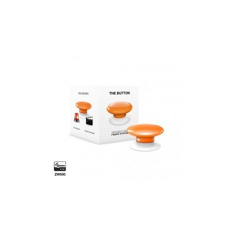 FIBARO - Bouton de commande The Button Z-Wave Plus orange