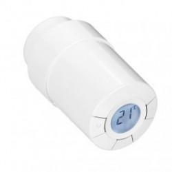 POPP thermostatic valve - thermostatic Head with wireless Z-Wave