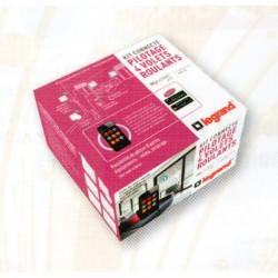 Kit angeschlossen MyHome-Play-Legrand - Pack haustechnik angeschlossen rollläden Céliane Weiß