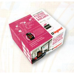 Kit connecté MyHome Play Legrand - Pack domotique connectée volets roulants Céliane Blanc