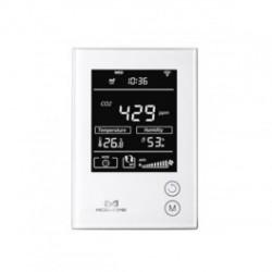 MCOHOME - Sensor de humedad, temperatura y Co2 con pantalla de Z-Wave Más