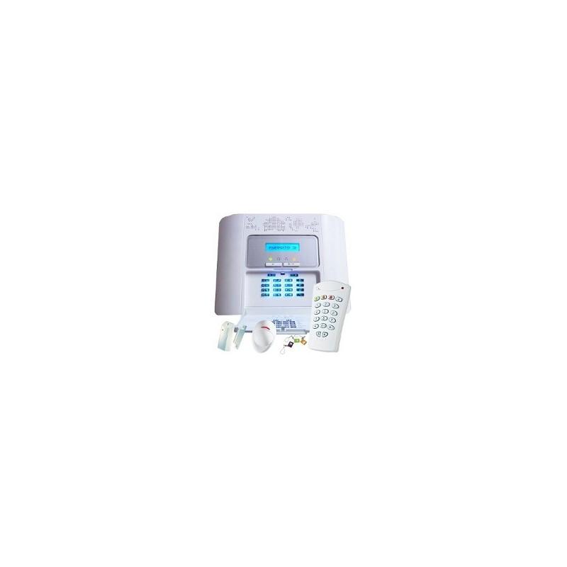 visonic pack alarme powermaster 30 gsm. Black Bedroom Furniture Sets. Home Design Ideas