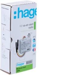 Hager - Kit komt en gaat zonder neutrale TRM150M