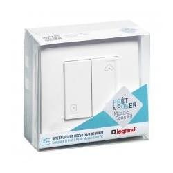 Ready to put Legrand - Switch shutter wireless Mosaic White