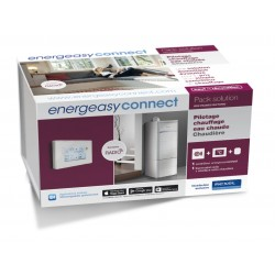 Energeasy Connect - Pack chaudière thermostat filaire