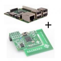 Raspberry Pi 3 Modèle B+ (WiFi et Bluetooth) carte Z-Wave Plus