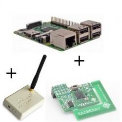 Raspberry pi - Raspberry Pi3-karte mit Z-wave-Plus und Rfxcom
